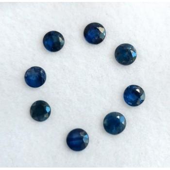 Zafiro Azul oscuro 3 mm A
