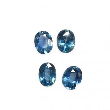 Zafiro Azul 3x4 mm A+