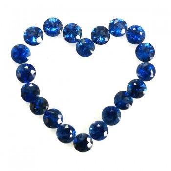 Zafiro Azul 3mm AAA